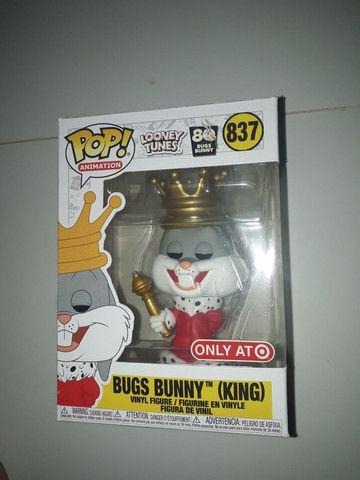 Funko pop looney Tunes bugs bunny King 837 exclusivo Target  - Foto 2