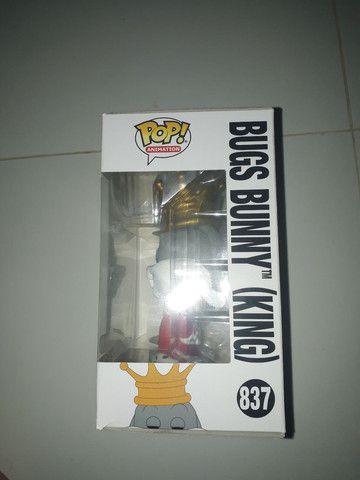 Funko pop looney Tunes bugs bunny King 837 exclusivo Target  - Foto 5