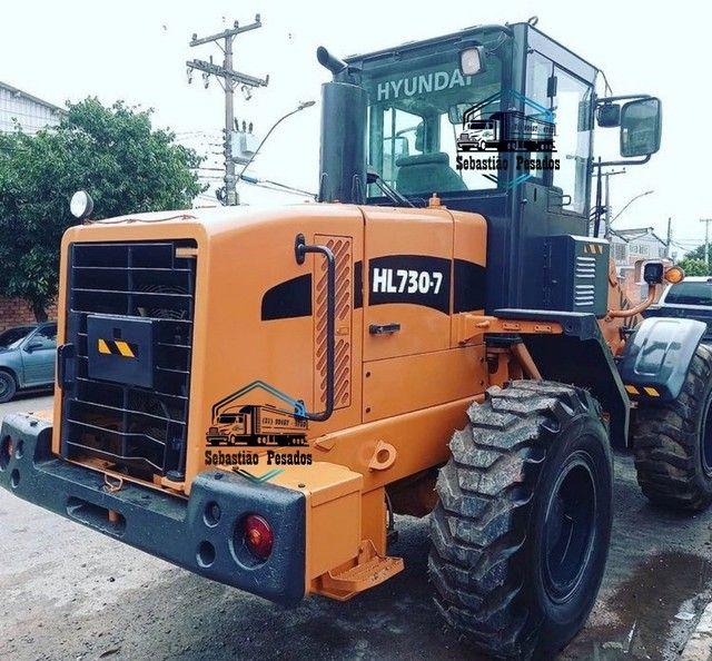 Pá Carregadeira Hyundai HL 730-7 2011  - Foto 5