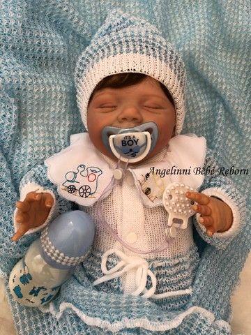 Bebê Reborn Gabriel - Pronto Envio! Com Enxoval - Foto 4
