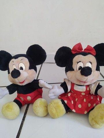 Mickey e Minnie de pelúcia Original