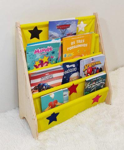 Rack Para Livros Infantil, Standbook Montessoriano
