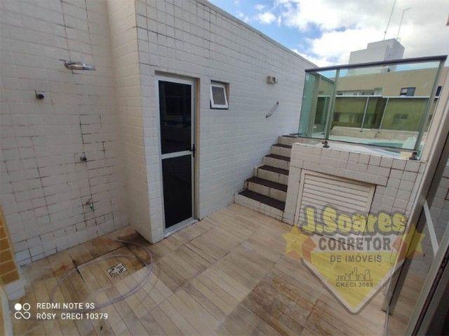 Cabo Branco, Cobertura, pisc  priv, 2 qt, 110m², 480mil, Venda, Apartamento, João Pessoa - Foto 13