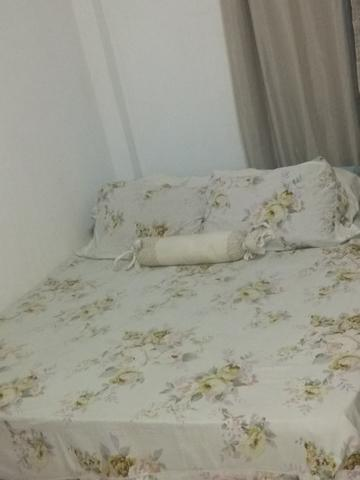 Linda cama box com colchão