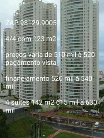 Horto bela vista,123 m² e 142 m²,iniciais de 520 mil á 640 mil,andar baixo,médio e alto