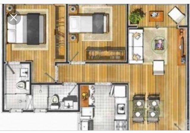 Vende-se apartamento Zona Sul