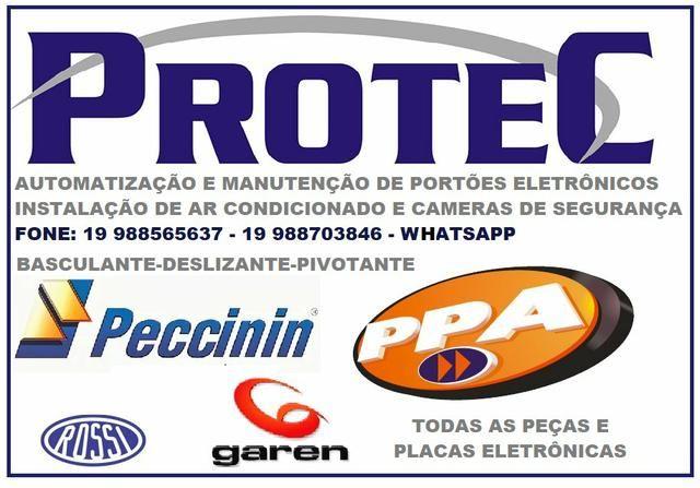 Conserto e instalação de portões eletrônicos