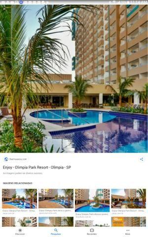 Apto 1 Dormitório - Enjoy - Olímpia Park Resort -Thermas dos Laranjais Olímpia - São Paulo - Foto 6