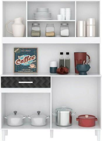 Armario kit cozinha 120 de 7 portas e 1 gaveta - Foto 2