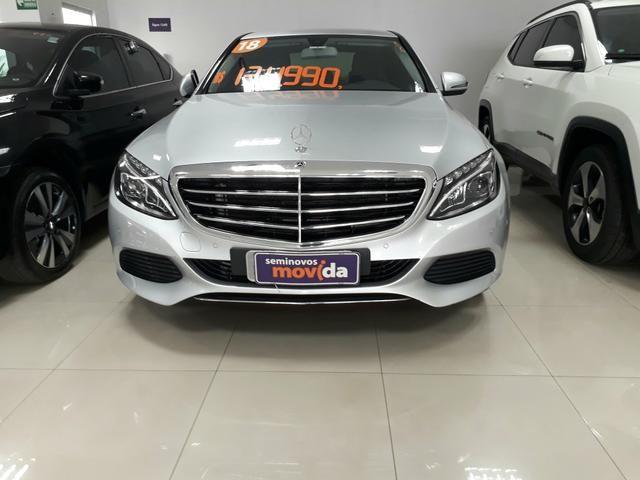Mercedes C-180 exclusive 2018/2018 Periciada, laudo disponível!