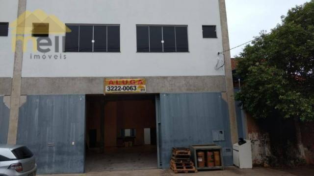 Barracão comercial para locação, Vila Formosa, Presidente Prudente - BA0026.