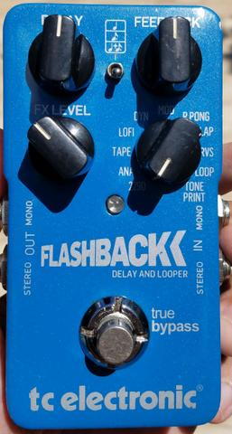 Pedal TC Electronic Flashback Delay end Looper