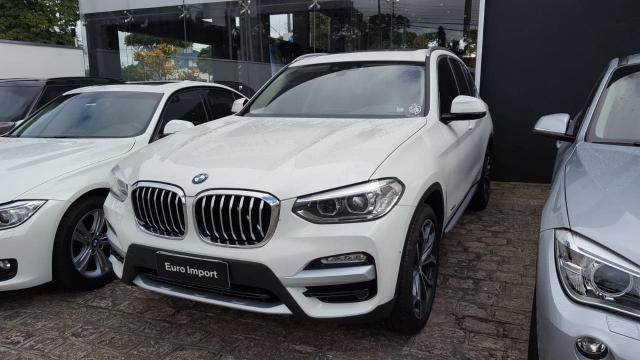 BMW X3 2018/2018 2.0 16V GASOLINA X LINE XDRIVE30I STEPTRONIC