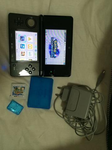 Nintendo 3DS com 2 jogos