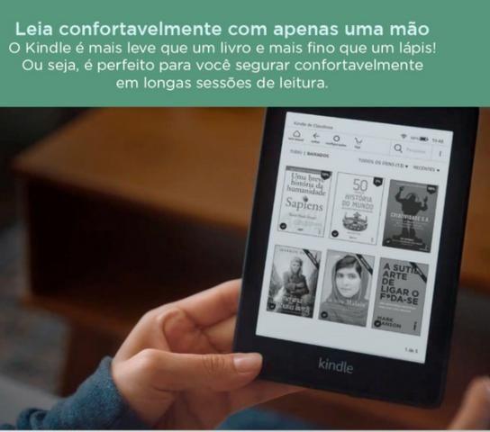 Novo Kindle Paperwhite 2019 Amazon, Tela 6p, 8gb, Wi-Fi, Prova d?água, Luz  Embutida, Novo