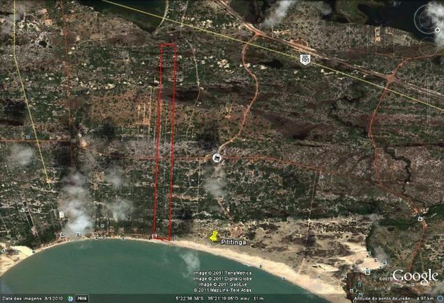 Vendo Área na beira mar da Praia de Pititinga - Foto 2