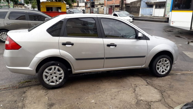 Fiesta Sedan 1.6 2009 Prata Completa Flex+GNV. Entr.+290,24 fixas - Foto 4