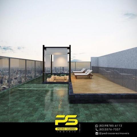 Apartamento com 2 dormitórios à venda, 60 m² por R$ 468.000 - Cabo Branco - João Pessoa/PB - Foto 15