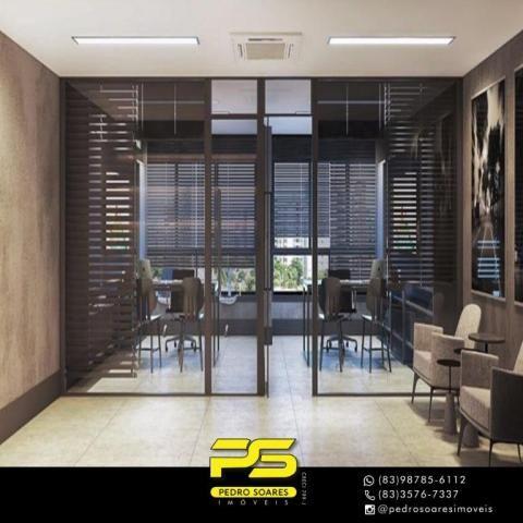 Apartamento com 2 dormitórios à venda, 60 m² por R$ 468.000 - Cabo Branco - João Pessoa/PB - Foto 5