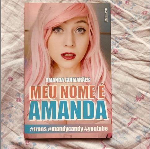 """Livro """"Meu nome é Amanda"""""""