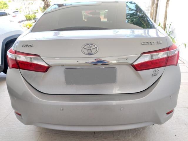 Toyota Corolla 2015 XEI 2.0 Automático Blindado Só 42.000 Km De Garagem Particular - Foto 7