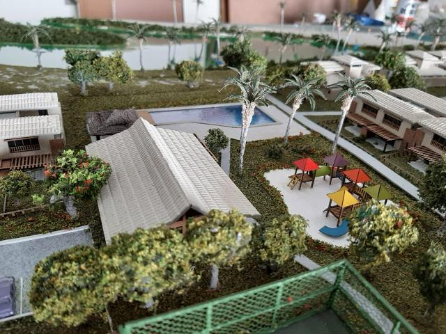 Lançamento!! Imbassai privilege - bangalôs 2 e 3 quartos - Pé na areia