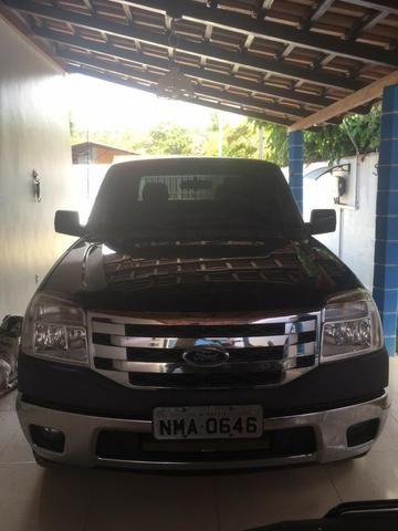 Ford Ranger XLT 2010 Gasolina - Vendo ou Troco - Foto 2