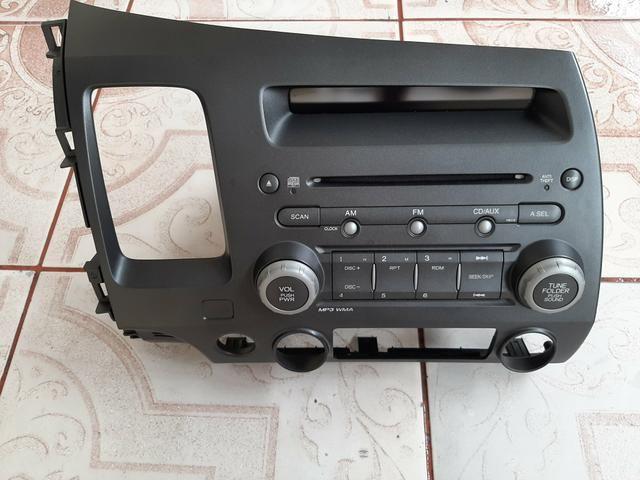Vendo rádio original do Honda Civic 2010.$1.000.l - Foto 2