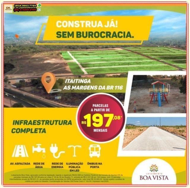 Loteamento para construção imediata as Margens da BR 116 a 10 minu. de Messejana - Foto 18