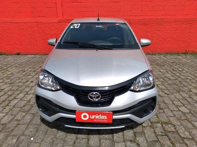 Etios 1.5 X Sedan 2020 Automático - Foto 2