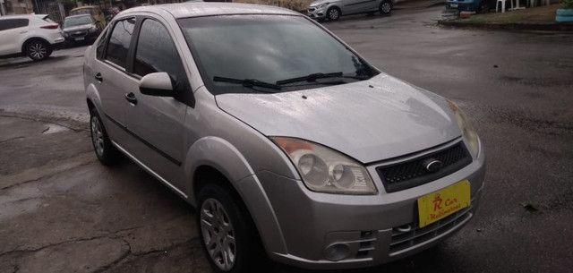 Fiesta Sedan 1.6 2009 Prata Completa Flex+GNV. Entr.+290,24 fixas - Foto 3