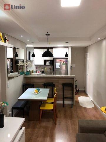 Apartamento com 3 dormitórios à venda, 68 m² por R$ 390.000 - Alto - Piracicaba/SP - Foto 6