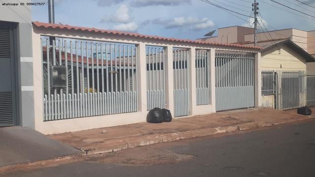 Casa para Venda em Várzea Grande, Jardim dos Estados, 3 dormitórios, 1 suíte, 2 banheiros,