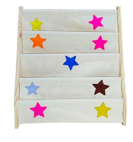 Rack Para Livros Infantil, Standbook Montessoriano - Foto 4
