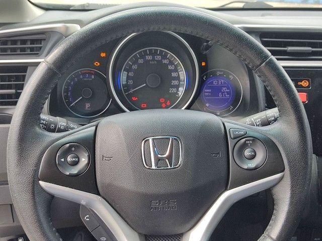 Honda Fit branco 2016 automático - Foto 8