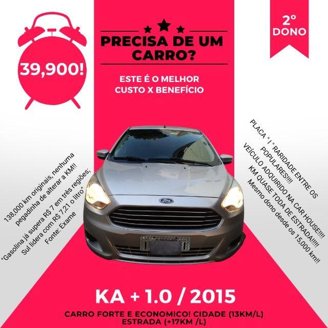 KA Sedan 1.0 2015 - 2º DONO