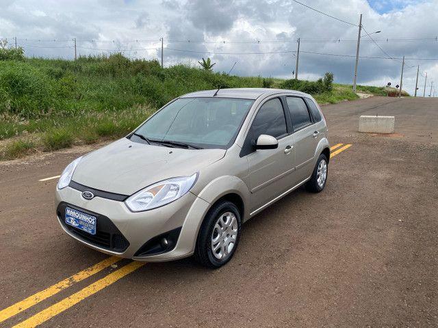 Fiesta 2012 Hatch 1.6 Completo + Multimídia e sensor de Ré - Foto 3