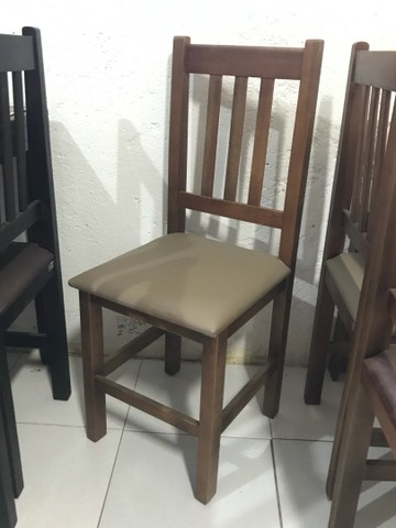 Mesa c/ 4 cadeiras estofadas para Restaurantes/Lanchonetes/Pizzaria - Foto 4