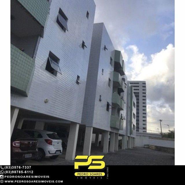 Apartamento com 3 dormitórios para alugar, 90 m² por R$ 1.700/mês - Aeroclube - João Pesso