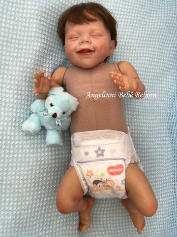 Bebê Reborn Gabriel - Pronto Envio! Com Enxoval - Foto 3