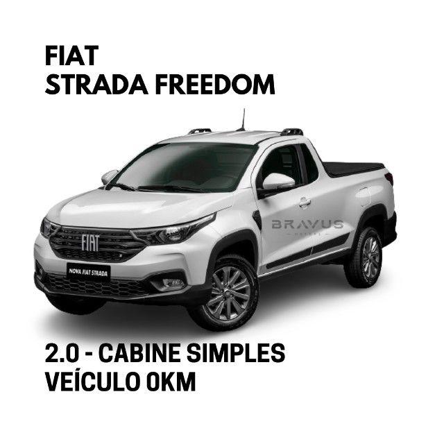 Fiat Strada Freedom 1.3 Cabine Simples Plus 2021