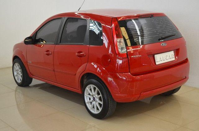 Fiesta Class 1.6 - completo - vermelho - ano 2009 - Foto 2