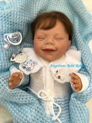 Bebê Reborn Gabriel - Pronto Envio! Com Enxoval