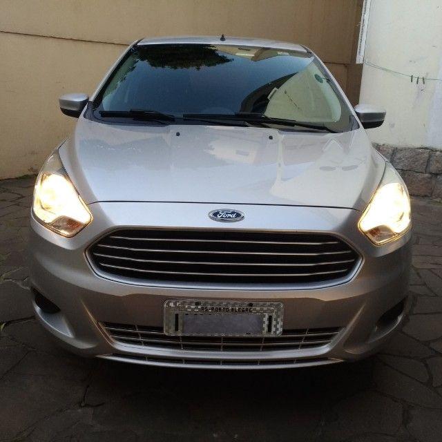 KA Sedan 1.0 2015 - 2º DONO - Foto 3