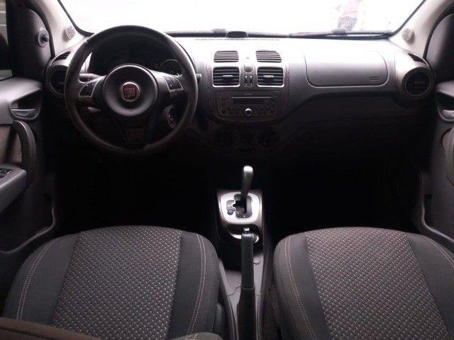 Raridade! Fiat Grand Siena Essence 1.6 Flex Completo 2014 com GNV! - Foto 10