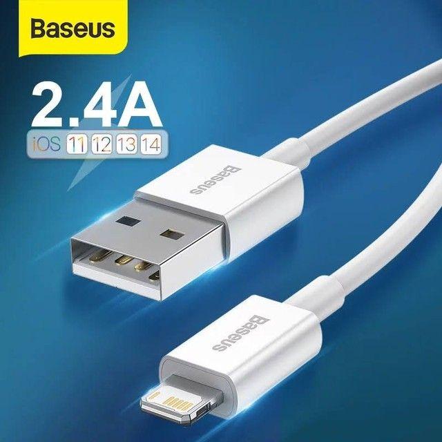 Cabo carregador original Baseus para iPhones USB A x Lightining