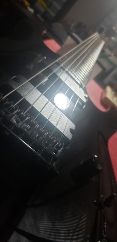 Guitarra Jackson 7 sete cordas