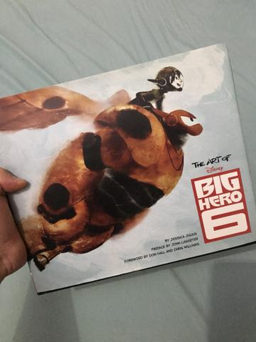 Livro the art of big hero 6