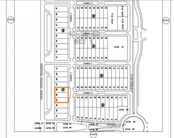 Lotes de 975 m² total de 2.925 m² na Av. Teôtonio, 802 Sul - Ao - Foto 5