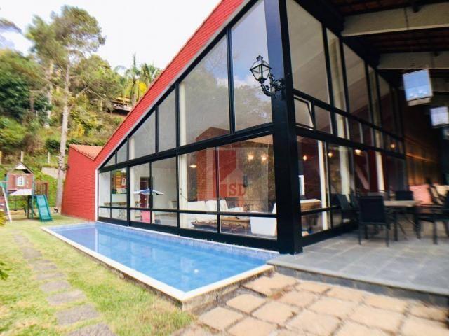 Casa com 4 dormitórios à venda, 345 m² por r$ 850.000,00 - albuquerque - teresópolis/rj - Foto 2